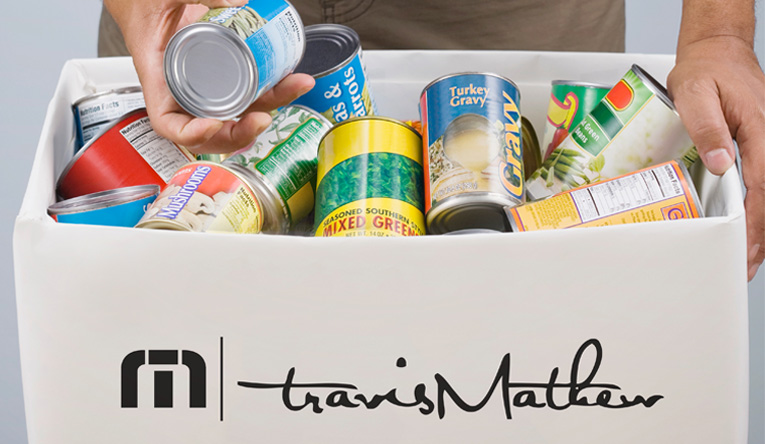 TravisMathew - Food drive